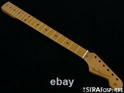 Nouveau Fender American Vintage Stratocaster Stratocaster Strat Col Rôti Érable 771-4222-121