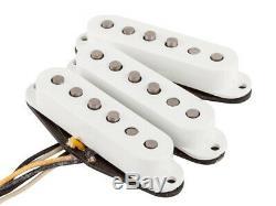 Nouveau Fender Custom Shop Fat 50s Pickup Set Stratocaster Micros Strat 0992113000