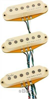 Nouveau Fender Gen 4 Noiseless Stratocaster Strat Pickup Set Micros 0992260000
