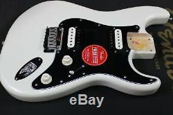 Nouveau Fender Squier Stratocaster Contemporain White Pearl Corps Chargé
