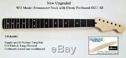 Nouveau Fender Stratocaster Musique Wd Licensed Strat Cou Avec Ebony Fretboard