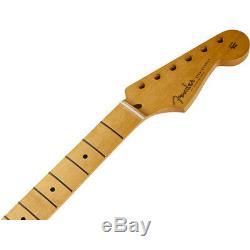 Nouveau Fender Stratocaster Remplacement V Manche Érable 21 50 Vintage 099-1002-921