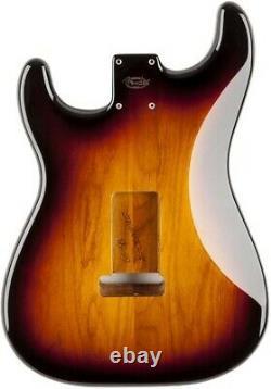 Nouveau Fender Vintage 60s Stratocaster Replacement Body 3 Color Sunburst 0998003700