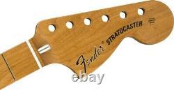 Nouveau Fender Vintera 70s Modifié Stratcaster Strat Neck Érable Rôti 0999742920