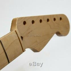 Nouveau Mij Maple Vintage Strat Style Cou 21 Frets, 1p Fini Fabriqué Au Japon