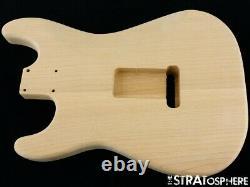 Nouveau Organe De Remplacement Pour Stratocaster Fender Strat, Alder, Naturel Inachevé