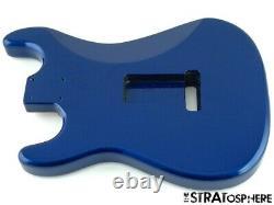 Nouveau Organe De Remplacement Pour Stratocaster Fender Strat, Cendre Rôti, Bleu Métallique