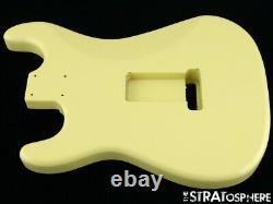Nouveau Organe De Remplacement Pour Stratocaster Fender Strat, Cendre Rôtie, Vintage White