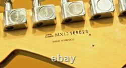 Nouveau Prix! Stratocaster Mexicain Fender G5vg Propulsé Par Roland Avec Cas Dur