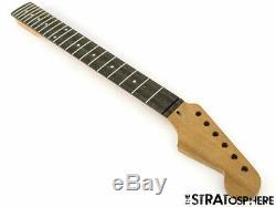 Nouveau Wd Fender Stratocaster Licensed De Strat & Ebony Acajou Manche Moderne 22
