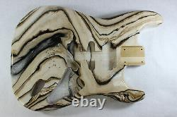 Poplar Hardtail Hsh Guitar Body Fits Fender Strat Stratocaster Cous J352