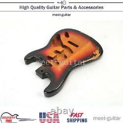 Pour Fender Stratocaster Corps De Guitare Électrique Remplacer Vintage Sunburst Relic USA