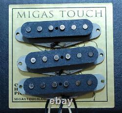 Pour Stratocaster'69 Vintage Pickups Set Hand Wound Par Migas Touch Strat
