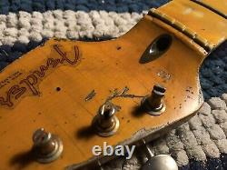 Quarter Sawn Flame Maple Stratocaster Neck-lorraine Relic
