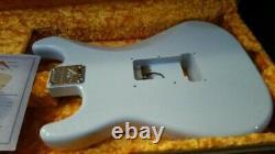 Rare Fender USA Custom Shop 61 Relic Stratocaster Body Faded Sonic Blue & Coa