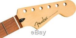 Sous-sonic Fender Stratocaster Véritable Baryton Neck, 22 Med Jumbo, Pau Ferro