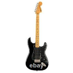 Squier Classic Vibe'70s Stratocaster Electric Guitar, Maple Fingerboard, Noir