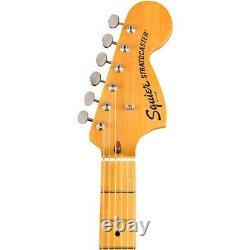 Squier Classic Vibe 70s Stratocaster Hss Maple Fingerboard Guitar Électrique Noir