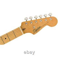 Squier Par Fender Classic Vibe'50s Stratocaster Guitar, Maple, White Blonde