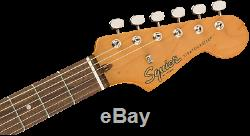 Squier Par Fender Classic Vibe 60 Stratocaster, Conseil Laurel, Lake Placid Bleu