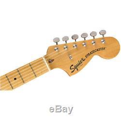 Squier Par Fender Classic Vibe'70s Stratocaster Hss Guitare Électrique, Érable Noir