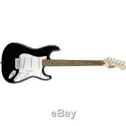 Squier Stratocaster 6-cordes De Guitare Électrique Pack, Black # 037-1823-006