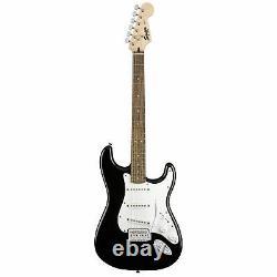 Squier Stratocaster Electric Guitar Starter Pack En Noir