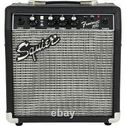 Squier Stratocaster Le Guitar Pack Avec Fender Frontman 10g Amp Olympic White