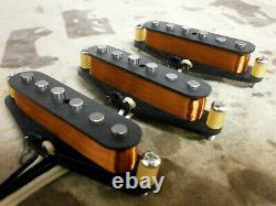 Stratocaster 1954 Pickups Vintage Correct Set Blessure Main S'adapte Fender Strat 54 Q
