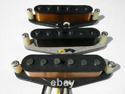 Stratocaster Noir Strat Strat Q Placez La Plaie À Main Fits Fender David Gilmour