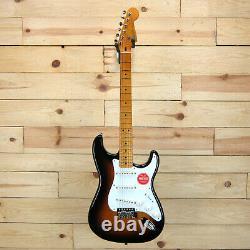 Stratocaster Squier Classic Vibe'50s, Maple Fingerboard, Sunburst 2 Couleurs