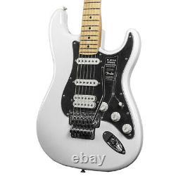 Tout Nouveau Fender Player Stratocaster Hss Avec Floyd Rose Polar White