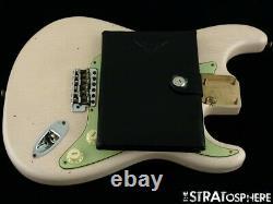 USA Fender Custom Shop 1959 Relic Stratocaster Loaded Body Strat Shell Rose