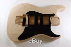 Unfinished Alder Vert Meanie Body- Convient Fender (tm) Strat Stratocaster Cous
