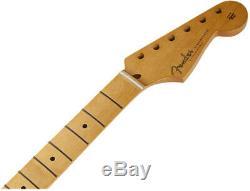 Véritable Fender Classic Series 50 De Strat Doux Col En V, 21 Vintage Frets, Maple