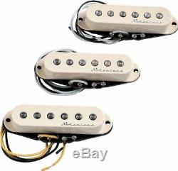Véritable Fender Hot Noiseless Stratocaster Aged Blanc Set De Ramassage 099-2105-000
