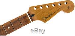 Véritable Fender Stratocaster Rôti Manche En Érable 9.5 Pau Ferro C Forme