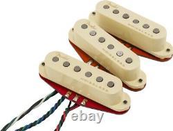 Véritable Fender Ultra Noiseless Hot Stratocaster/strat Guitar Pickup Set