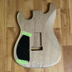 Warmoth Poids Léger Strat Mahogany Guitare Électrique Corps Fender Stratocaster LIC